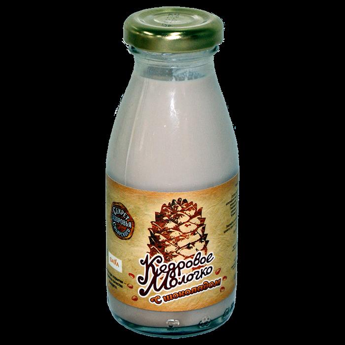 Молочко кедрового ореха с шоколадом