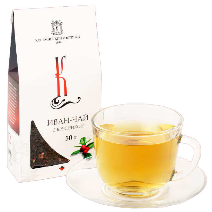 Иван-чай с брусникой, крупнолистовой